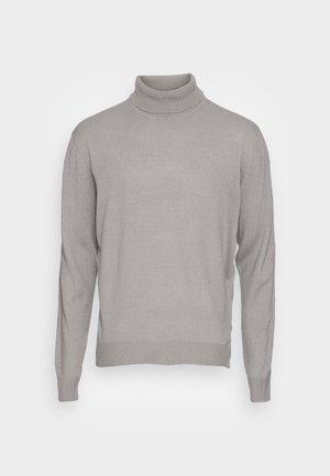 FINE GAUGE ROLL NECK - Trui - light grey