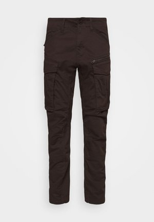 ROVIC ZIP TAPERED - Cargobroek - deep brown