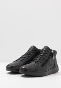 Calvin Klein - FRANSISCO HIGH TOP LACE UP - Sneakersy wysokie - black - 2