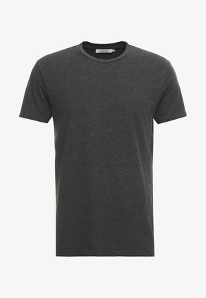 KRONOS  - Jednoduché triko - black melange