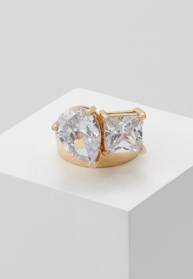 SOFTWIND - Ring - clear/gold-coloured