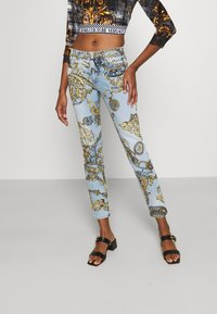 Versace Jeans Couture - Jeans Skinny Fit - blue denim - 0