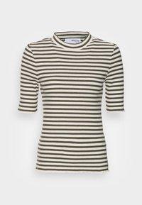 ANNA CREW NECK TEE  - Print T-shirt - kalamata