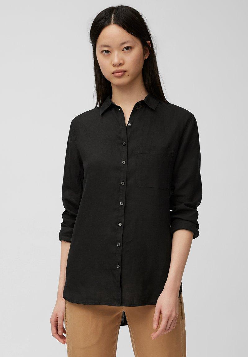 Marc O'Polo - Button-down blouse - dark atlantic