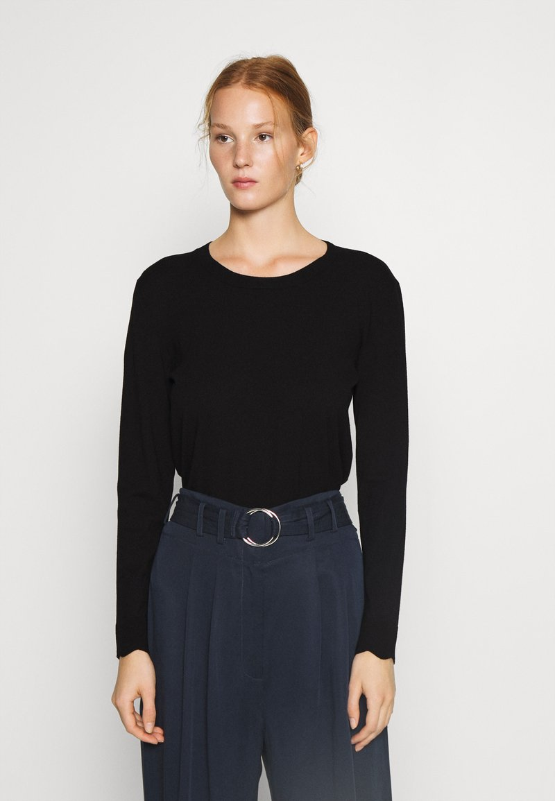 Sisley - Jumper - black