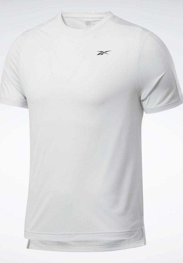 UNITED BY FITNESS PERFORATED  - Basic T-shirt - grey