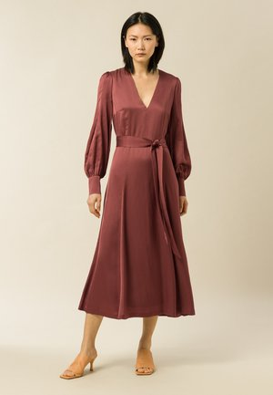 DENA ROSE - Day dress - brown