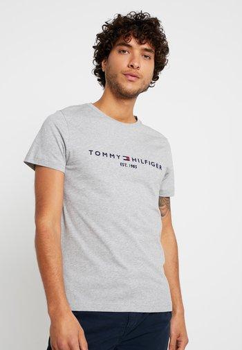LOGO TEE - Printtipaita - grey