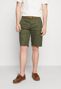 Scotch & Soda - FAVE CARGO - Shorts - army - 0
