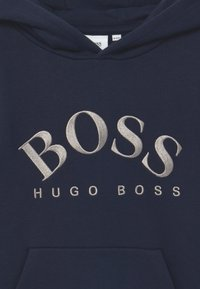 BOSS Kidswear - HOODED - Hoodie - navy - 2