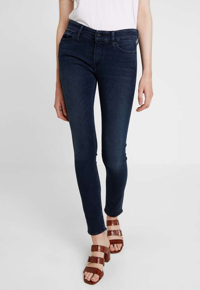 JUNO - Jeansy Slim Fit - dark blue