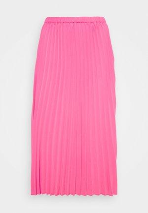 SARINA PLEATED SKIRT - A-line skirt - fandango pink