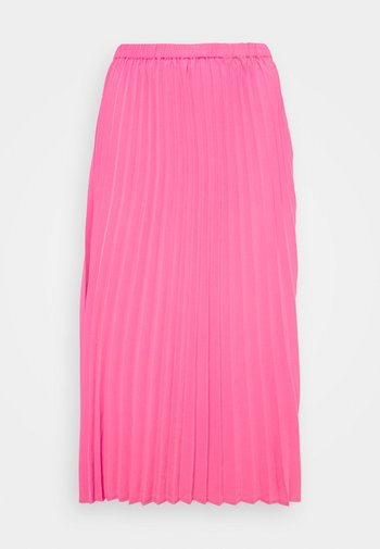 SARINA PLEATED SKIRT - Áčková sukně - fandango pink
