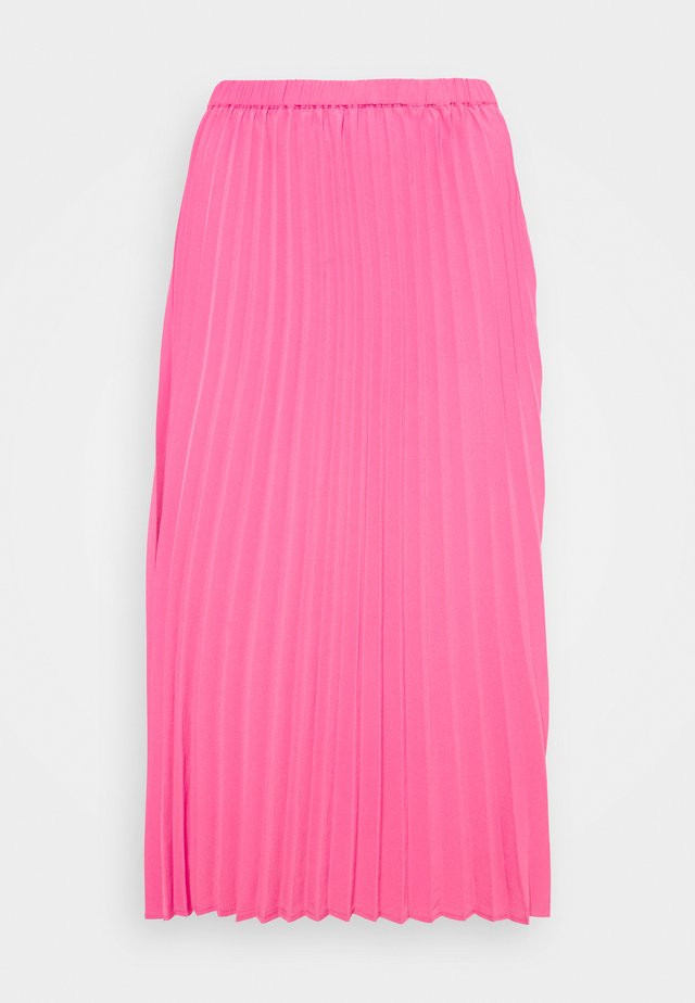 SARINA PLEATED SKIRT - Spódnica trapezowa - fandango pink