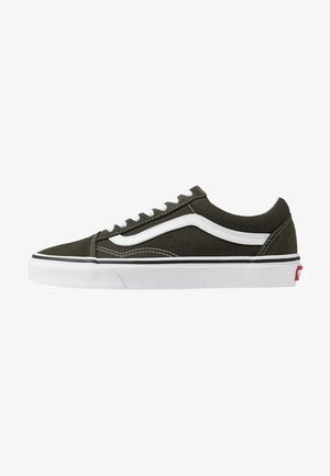 OLD SKOOL UNISEX - Trainers - forest night/true white