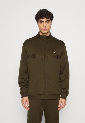 Training jacket - trek green