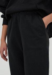 PULL&BEAR - Teplákové kalhoty - mottled dark grey - 3