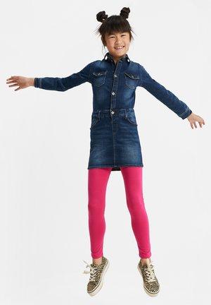 MEISJES SKINNY FIT - Leggings - Trousers - light red