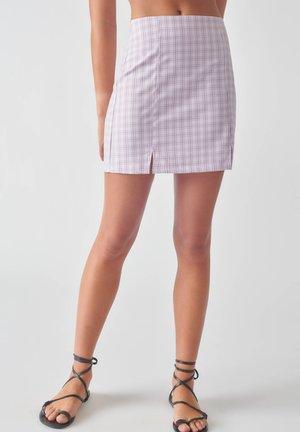 Spódnica trapezowa - mauve