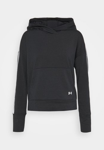 RIVAL TAPED HOODIE - Jersey con capucha - black