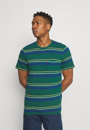 RELAXED FIT POCKET TEE - T-shirt - bas - multi-color