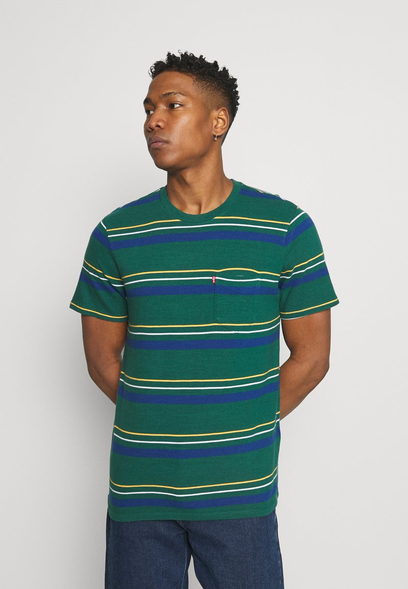 Levi's® - RELAXED FIT POCKET TEE - Basic T-shirt - multi-color