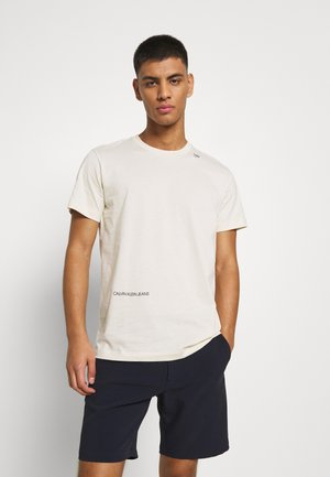 MICRO LOGO TEE UNISEX - Print T-shirt - muslin