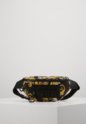 UNISEX - Bum bag - black/gold