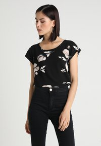 ONLY - ONLNOVA LUX  - Blouse - black/florence - 0