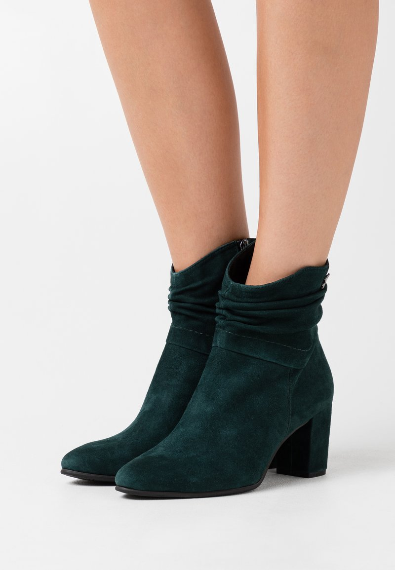 Marco Tozzi by Guido Maria Kretschmer - Classic ankle boots - bottle
