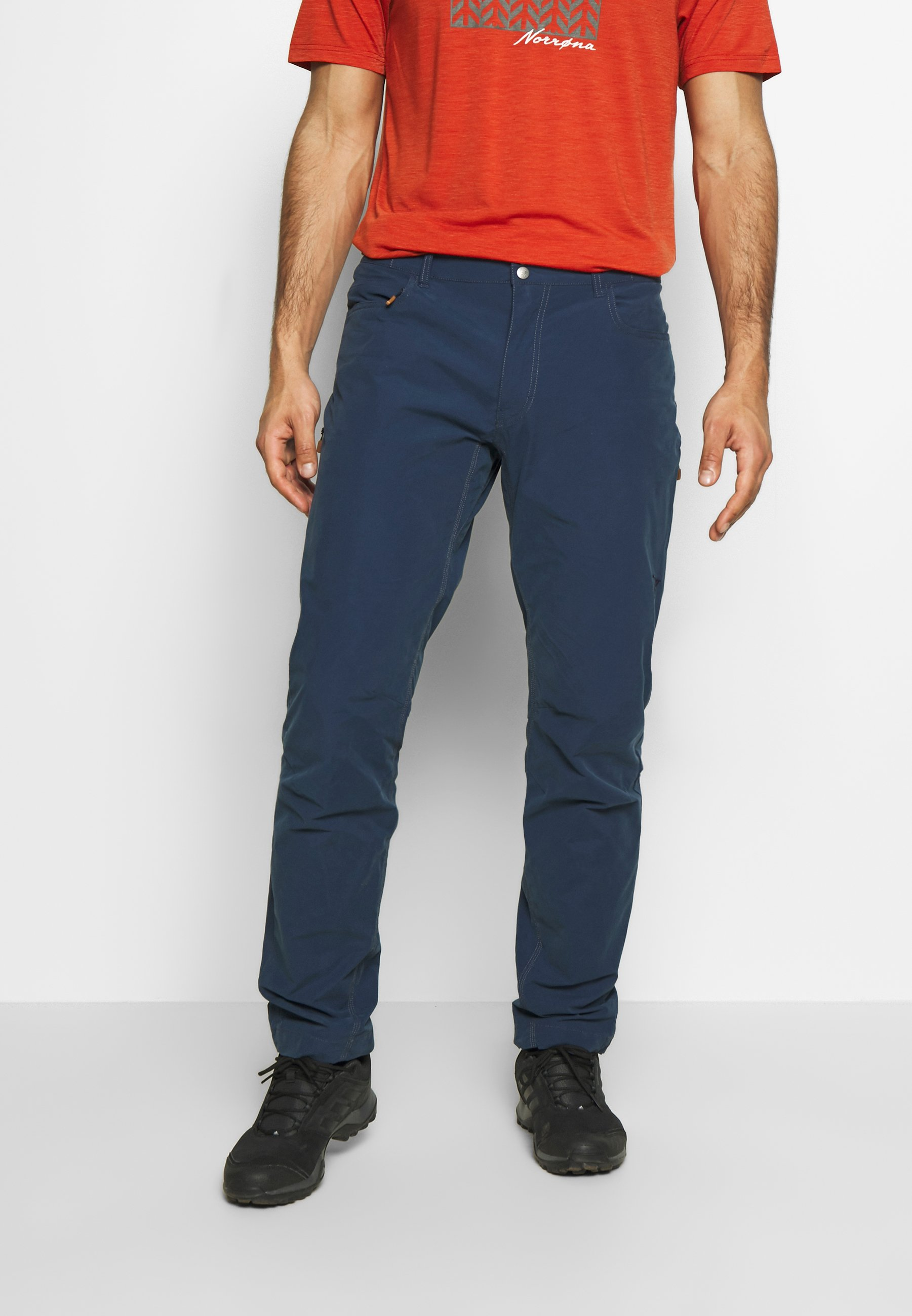 SVALBARD PANTS Bukse indigo night