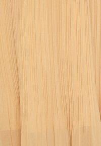 New Look - PLEATED - A-Linien-Rock - beige - 4