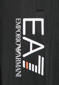 EA7 Emporio Armani - TUTA SPORTIVA - Zip-up hoodie - black - 4