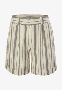 comma casual identity - Shorts - white woven stripes - 6