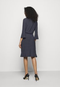 Lauren Ralph Lauren - PRINTED DRESS - Jersey dress - navy/colonial - 2