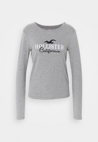 Hollister Co. - Long sleeved top - grey - 0