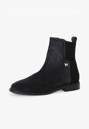 Ankle boots - marine