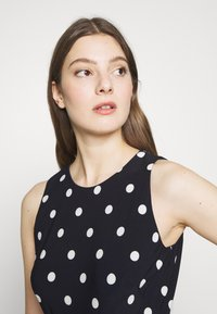 Lauren Ralph Lauren - PRINTED MATTE DRESS - Jersey dress - navy - 3