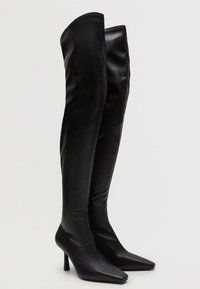Mango - LAURA - Over-the-knee boots - black - 3