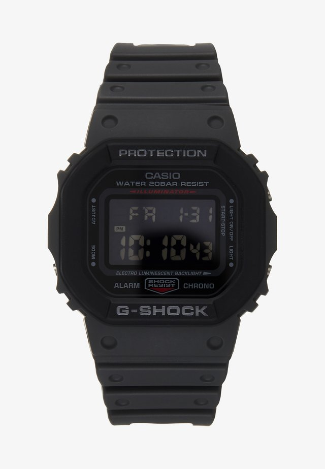 LAYERED BEZEL - Digital watch - black
