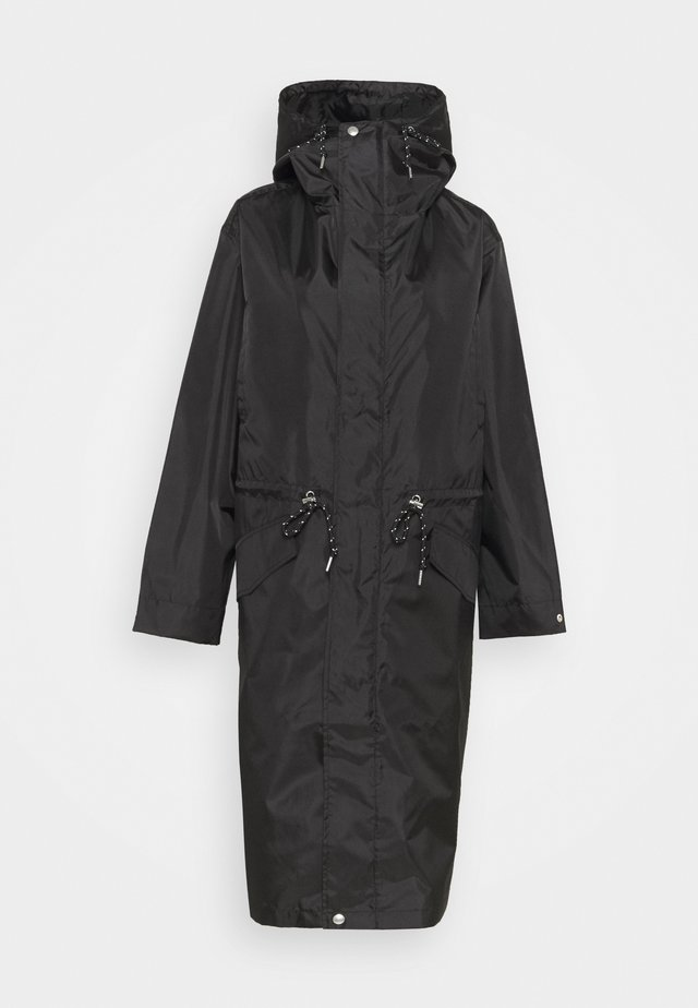 PELTO COAT - Parka - black