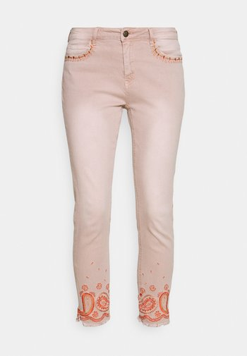 PANT ANKLE PAISLE - Jeans Skinny Fit - light pink