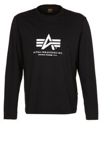Alpha Industries - Long sleeved top - black - 0