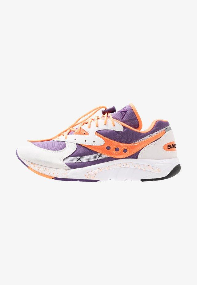 AYA - Baskets basses - white/purple/orange