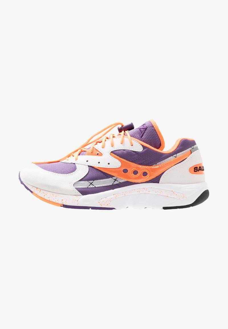 Saucony - AYA - Matalavartiset tennarit - white/purple/orange