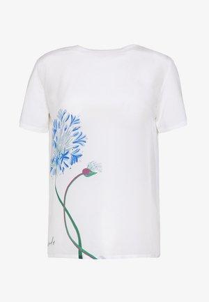 ALASKA - Print T-shirt - white