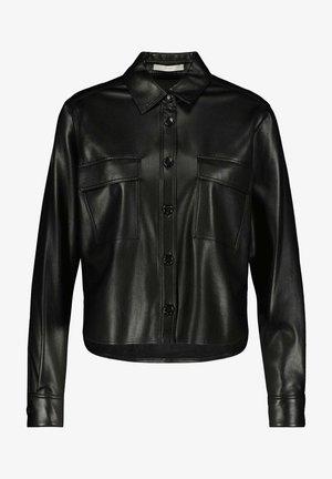 BAPITA - Button-down blouse - schwarz