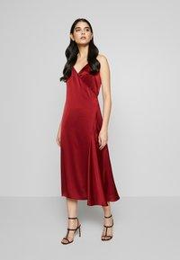 Filippa K - CALLIE DRESS - Koktejlové šaty/ šaty na párty - pure red - 0