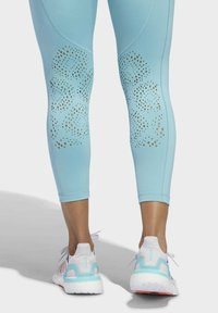 adidas Performance - BELIEVE THIS 2.0 PRIMEBLUE 7/8 LEGGINGS - Tights - blue - 4