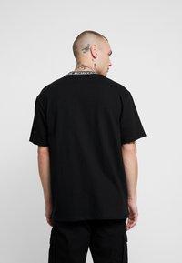Topman - TEE - T-shirt con stampa - black - 2